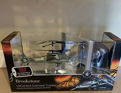 BRAND NEW BROOKSTONE U CONTROL COMBAT COPTER REMOTE CONTROL TOY HELICOPTER $49.99