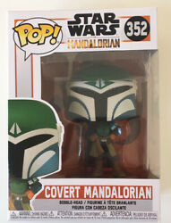 New Funko Target Star Wars Covert Mandalorian Pop Protector Included See Desc $14.95
