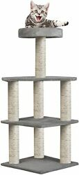 Livebest Cat Tree Condo Pet Scratching Activity Tower Play House Furniture Posts $45.99