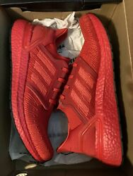 Adidas Ultra Boost 20 Triple Red Shoes Size 12 Mens with Box $120.00