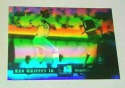 Ken Griffey Jr 1994 Denny#x27;s Limited Edition Holograms #12 of 28 FREE SHIPPING $3.49