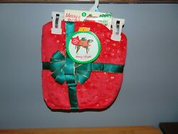 Dog Red Christmas Present Costume Size Small $7.00