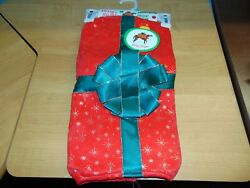 Dog Red Christmas Present Costume Size Large $7.00