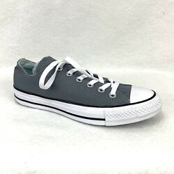 Converse All Star Women#x27;s Size 8 Gray Double Tongue 560907F Shoes Sneakers Chuck $34.97