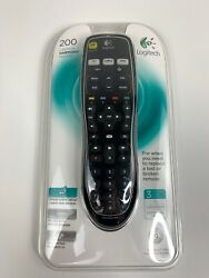 New Sealed Logitech Harmony 200 Universal Remote Large Buttons Control 3 Devices $49.95