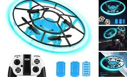 Mini Drones For KidsRC Drone For Beginners With Neno LightRC Helicopter Blue $41.13