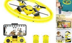 Q8 FPV Drone with Camera for Kids AdultsRC Drones for KidsQuadcopter Yellow $80.37