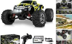 1:16 Scale Large RC Cars 36 kmh Speed Boys Remote Control Car Black Yellow $137.88