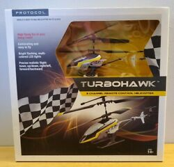 Protocol TurboHawk 3 Channel Remote Control RC Helicopter New $29.99