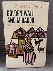 Vintage book Golden wall and mirador travels and observations in Peru Sitwell HC $9.99