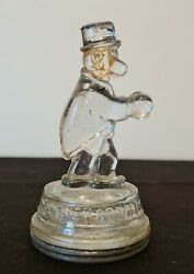 Vintage Glass Candy Container Barney Google $125.00