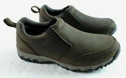 Duluth Trading Mens 13 Suede Leather Slip Resistant Loafers Hiking Shoes 49521 $51.99