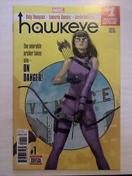Hawkeye #1 1st First Solo Series Kate Bishop 1st Appearance App Ramone Watts NM C $50.00