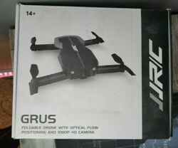 JJRC GRUS Foldable Drone: 1080P HD Camera Optical Flow Positioning — USED $35.86