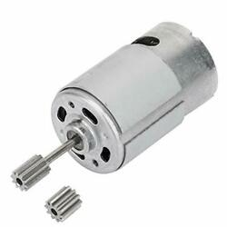 6V RS550 Micro Motor with Two Tooth Heads for Electric Toy Car Children Motor... $26.40
