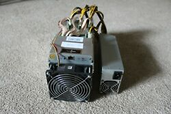 Bitmain Antminer S9 with PSU 1xPower Cord and 1xEthernet Cable $750.00