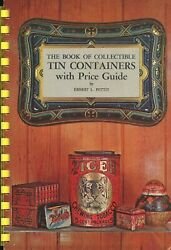 Collectible Advertising Tin Containers Scarce Illustrated Book Values $24.95