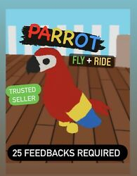 PARROT w FLY RIDE ADOPT ME 25 FEEDBACKS REQUIRED FAST DELIVERY FR $16.99