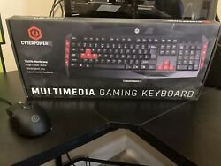 Cyber power Gaming Keyboard And Mouse $49.99