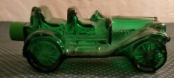 Vintage Avon Antique Glass Car Tai Winds After Shave Green $12.62