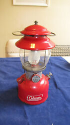 VINTAGE COLEMAN 200A LANTERN 7 72 SINGLE MANTLE MADE IN USA $99.00