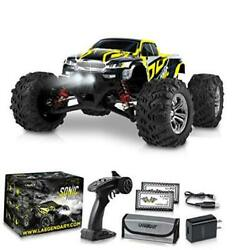 1:16 Scale Large RC Cars 36 kmh Speed Boys Remote Control Car Black Yellow $146.79