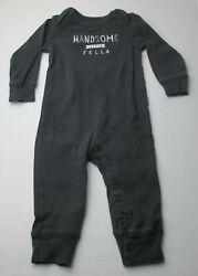 Infant Baby Boys 9 Months Carter#x27;s Handsome Little Fella Outfit $3.00