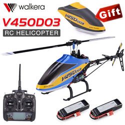 Walkera V450D03 6CH 3D Fly 6 Axis Stabilization System Single Blade Helicopter $387.86