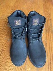 TIMBERLAND 10910 YOUTH FIELD HIKING BLACK BOOTs Size 6.5 JUNIOR New With Tags $55.00