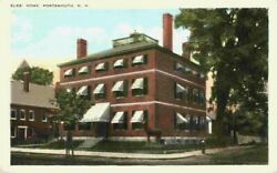 Elks Club Home Street View Portsmouth New Hampshire NH Postcard 1910#x27;s 1920#x27;s