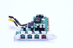 HP P N: 445776 001 4 Port PCI Powered USB Card With Cables. SKU212132 $18.18