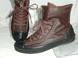 Converse All Star Winter Collection Leather Combat Boot Sneaker Size 7.5M 9.5W $59.99
