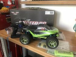 Exceed RC 1 8 2.4Ghz Mad Torque RC Brushless Ready to Run GREEN $261.00