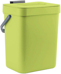 LALASTAR Food Waste Basket Bin for Kitchen Small Countertop Compost Green $23.09