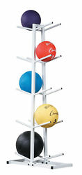 Champion Double Stack Medicine Ball Rack with 10 Ball Capacity White $72.97