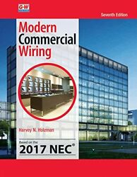 MODERN COMMERCIAL WIRING By Harvey N. Holzman Hardcover *Excellent Condition*