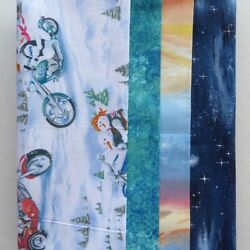 Christmas And Novelty Pack Fat Quarter Four Pack Christmas And Novelty $19.21