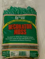 Luster Leaf Craft Decorator Sheet Moss 200 Square Inches Hobby Train Terrariums $9.79