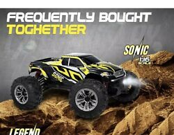 1:16 Scale Large Rc Cars 36 Kmh Speed Boys Remote Control Car 4X4 Off Road Mo $131.99