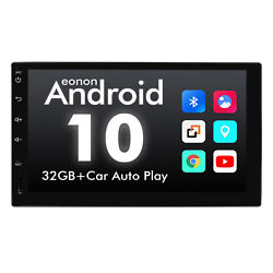 US Android 10 7quot; IPS 2Din In Dash Car GPS Navigation System Radio Stereo CarPlay $319.59