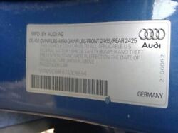 Console Front Floor Station Wgn Thru VIN 400000 Fits 02 05 AUDI A4 3455367 1 $145.00