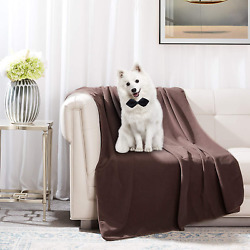 Dog Waterproof Bed Blankets Washable Reusable Pets Bed Blankets 60quot; 80quot; Reve $104.98