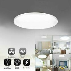 18W Cool LED Ceiling Light Ultra Thin Flush Mount Kitchen Home Lamp Fixture