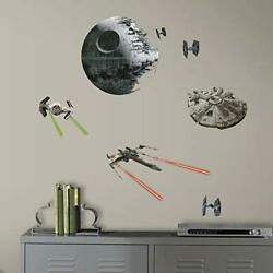 RoomMates Star Wars Classic Spaceships Peel and Stick Wall Decals $13.72