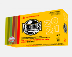 2021 Topps Archives Snapshots Baseball Sealed Hobby Box Online Exclusive PRESALE $49.95