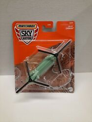 Matchbox Sky Busters CH 47 Chinook Helicopter Metal Dei cast $6.75