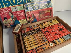 Vintage Science Fair 150 in 1 Electronic Project Kit Radio Shack Tandy 1976 $39.99