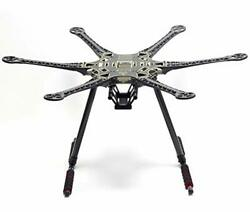 S550 Hexacopter Frame Kit 6 Axis Drone Flame with Carbon Fiber Landing Gear $93.29
