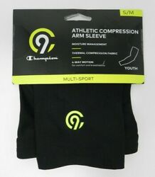 C9 Champion Multi Sport Compression Arm Sleeve Youth Size S M Black Athletic New $10.39