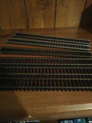 9in HO Scale straight Track lot of 6 $10.99